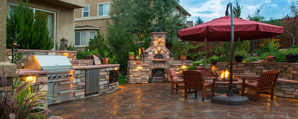5 great patio ideas stamford landscape contractor for Great outdoor patio ideas